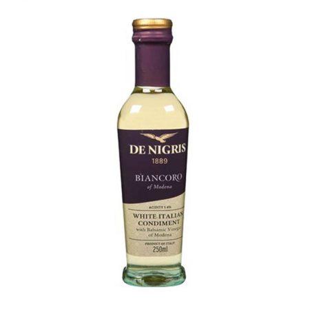 De Nigris Uthull Balsamike e Modenës e Bardhë 0.25 L