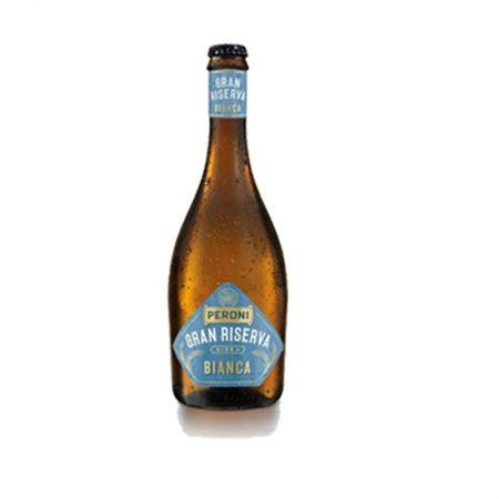 Peroni Gran Riserva Birrë e Bardhe Shishe 0.5L