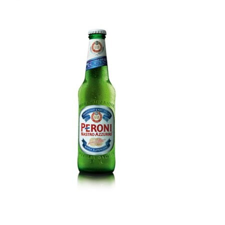 Peroni Nastro Azzurro Birrë Bjonde Shishe 0.33L