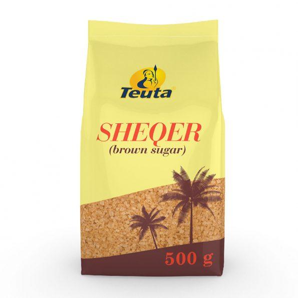 Teuta Sheqer brown sugar 500 gr