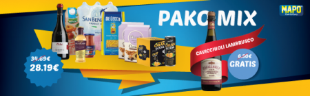 Pako Mix ushqimore/ Vere