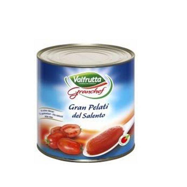 Valfrutta Salcë Domatesh te Qëruara Granchef 2.55 Kg