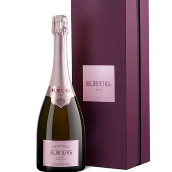 Krug Rose Gift Box 23 Edition shampanje 0.75 L