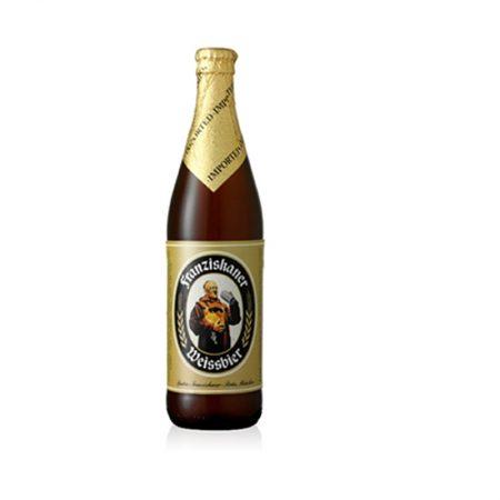 Franziskaner Birrë e Turbullt Shishe 0.5L