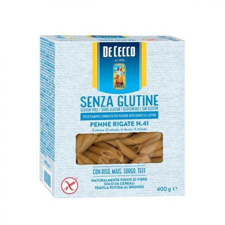 De Cecco Pasta Penne Rigate Nr. 41 pa Gluten Paketim 400Gr x 14Cp