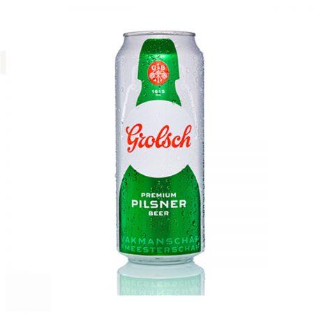 Grolsch Birre Bjonde Kanace 0.5L 5% x 24Cp