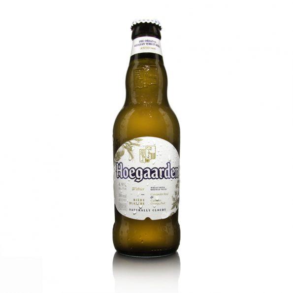 Hoegaarden White Birre Bjonde Shishe 0.33L