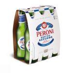 Peroni Nastro Azzurro Birre Bjonde Shishe 0.33L,  Paketim 6 Cope