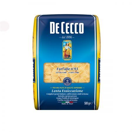 De Cecco Pasta Farfalle Paketim 500Gr