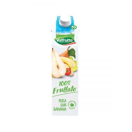 Valfrutta Frullato Dardhe Banane Tetrapak 1L