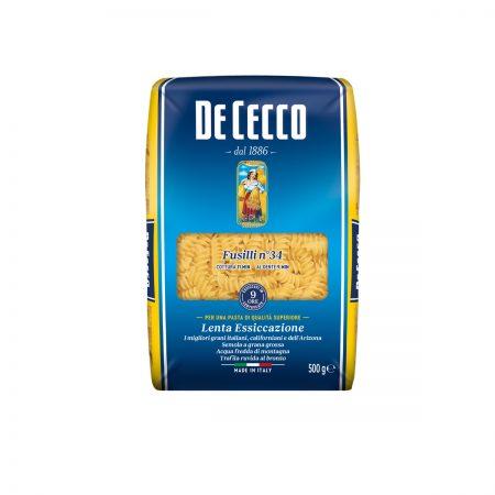 De Cecco Pasta Fusilli Paketim 500Gr