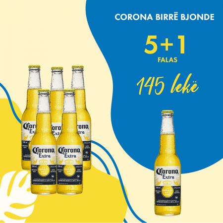5  Birra Corona 0.355L + 1 Falas