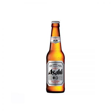 Asahi Super Dry Birre Bjonde Shishe 0.5L