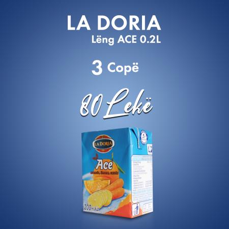 3 Cope La Doria Leng Ace Tetrapak 0.2L