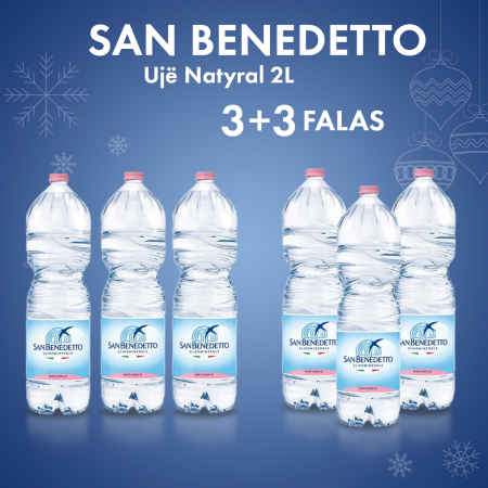 3 San Benedetto Uje Natyral Pet 2L  + 3  FALAS