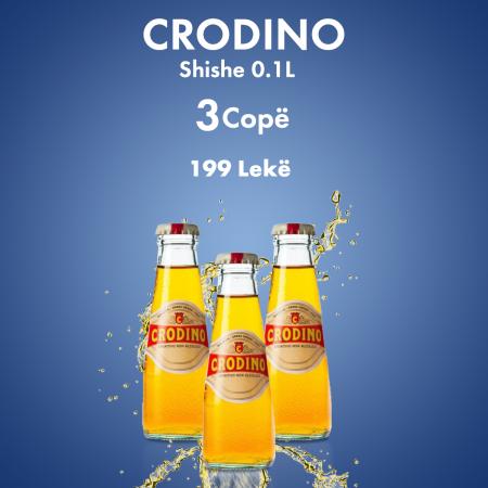 3 Crodino Shishe 0.1L