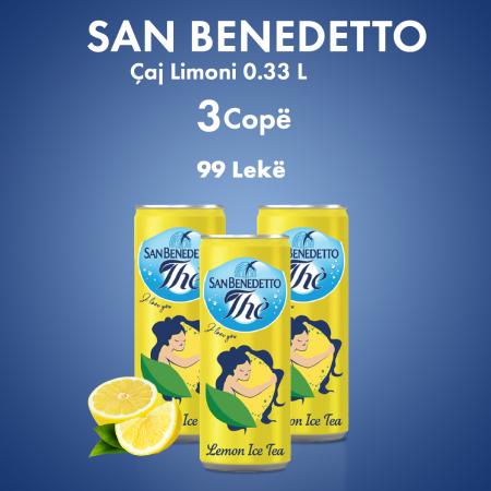 3 San Benedetto Caj Limoni Kanace 0.33L