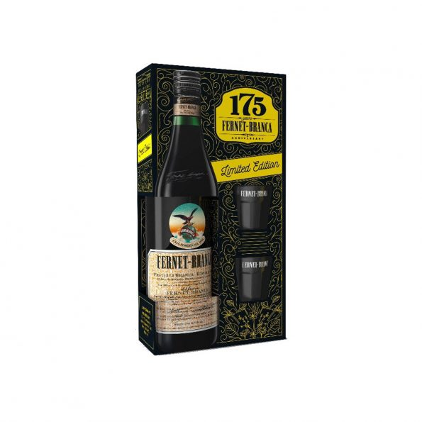 Branca Fernet Gift Box 2 Shot 0.7L