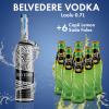 1 Belvedere Vodka Red Laolu 0.7L 40%+ 6 Cope LEMON SODA SHISHE 0.2L