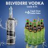 1 Belvedere Vodka Red Laolu 0.7L  + 6  ORAN SODA SHISHE 0.2L Falas