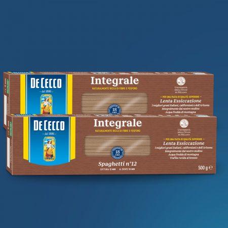 2 De Cecco Pasta Spaghetti Integrali Paketim 500gr