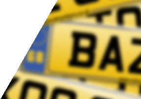 Sequential number plates