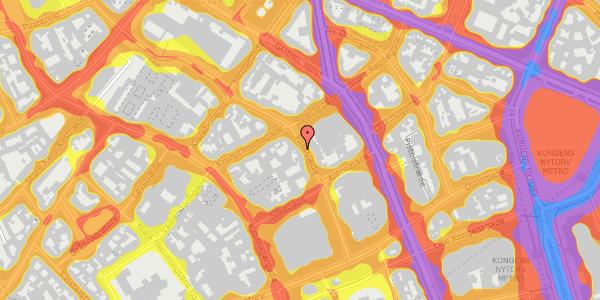 Trafikstøjkort på Pilestræde 31, 1112 København K