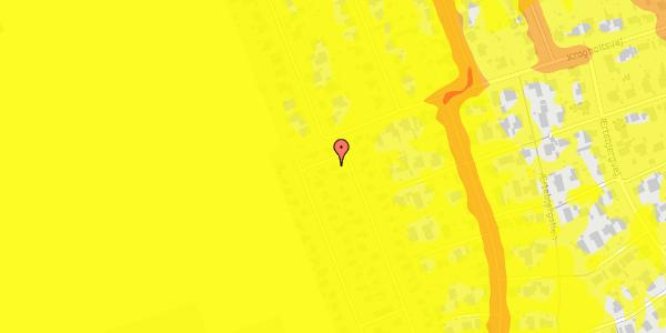 Trafikstøjkort på Hf. Dahlia 51, 2650 Hvidovre