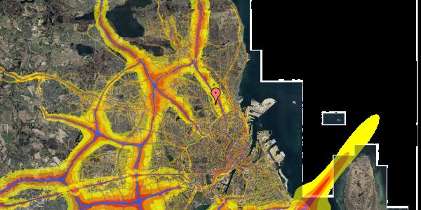 Trafikstøjkort på Banebrinken 95, 3. 48, 2400 København NV