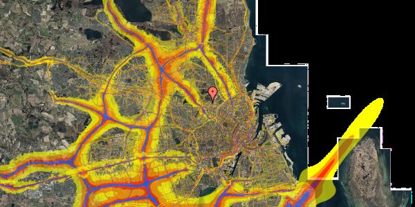 Trafikstøjkort på Birkedommervej 64, 3. tv, 2400 København NV