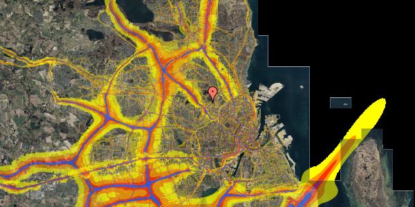 Trafikstøjkort på Birkedommervej 82, 3. th, 2400 København NV