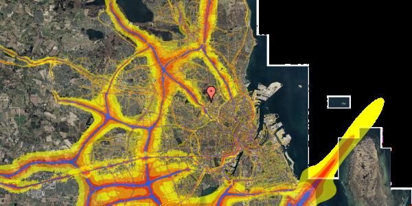 Trafikstøjkort på Birkedommervej 87, 2. tv, 2400 København NV