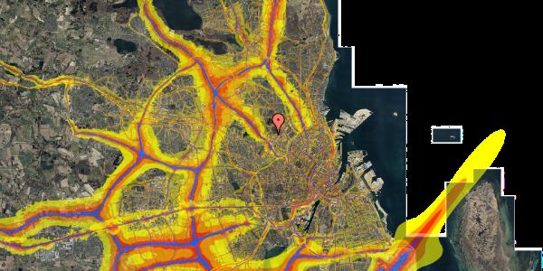 Trafikstøjkort på Birkedommervej 92, 1. tv, 2400 København NV