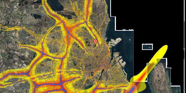 Trafikstøjkort på Bispebjerg Bakke 9, 2. 206, 2400 København NV