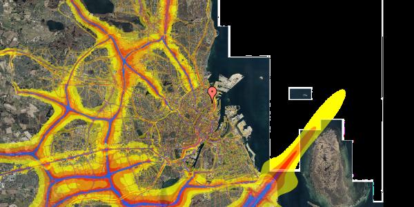 Trafikstøjkort på Faksegade 18, 4. th, 2100 København Ø