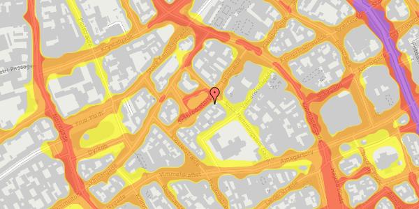 Trafikstøjkort på Gråbrødretorv 5, kl. , 1154 København K