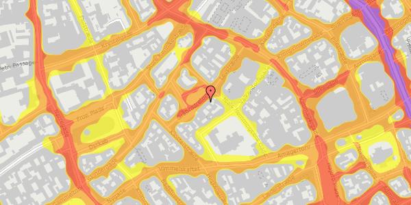 Trafikstøjkort på Gråbrødretorv 7, kl. tv, 1154 København K