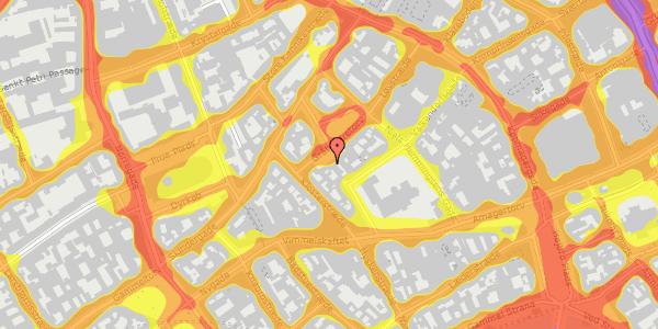 Trafikstøjkort på Gråbrødretorv 17, 2. , 1154 København K