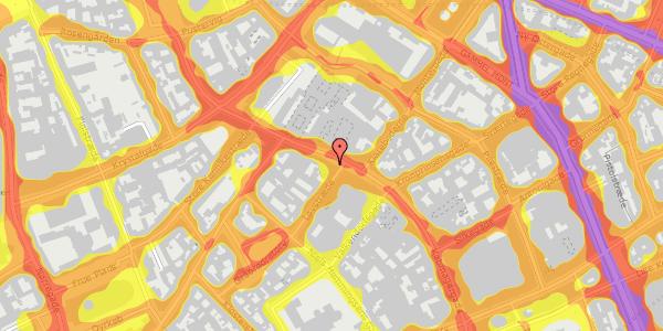 Trafikstøjkort på Købmagergade 39, kl. , 1150 København K
