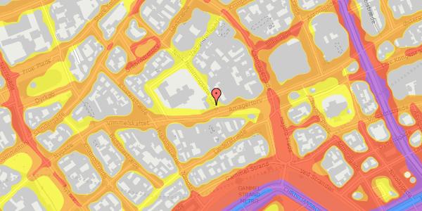 Trafikstøjkort på Niels Hemmingsens Gade 1, 2. tv, 1153 København K