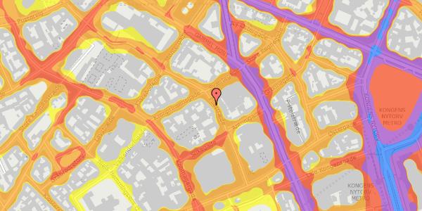 Trafikstøjkort på Pilestræde 33, 2. , 1112 København K