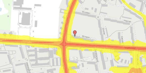 Trafikstøjkort på Brinken 17, 1. tv, 2600 Glostrup