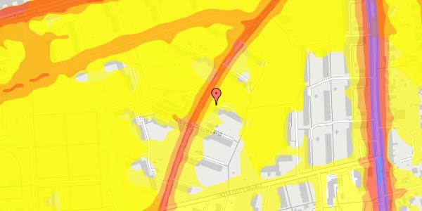 Trafikstøjkort på Arnold Nielsens Boulevard 13, 3. th, 2650 Hvidovre