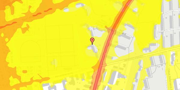 Trafikstøjkort på Arnold Nielsens Boulevard 44, 3. th, 2650 Hvidovre