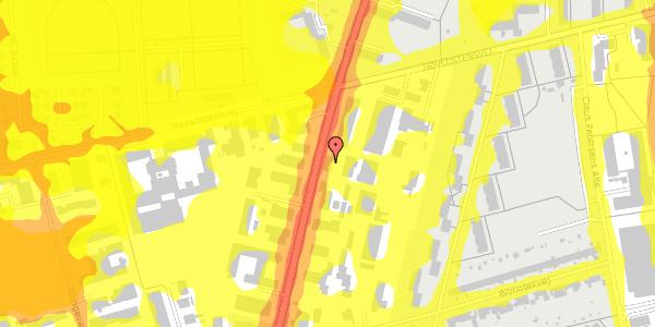 Trafikstøjkort på Arnold Nielsens Boulevard 65, 2650 Hvidovre