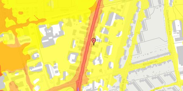 Trafikstøjkort på Arnold Nielsens Boulevard 71, 2650 Hvidovre