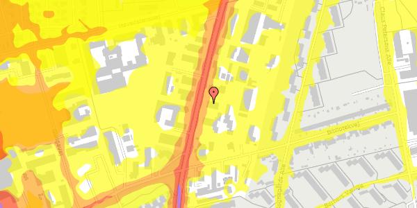 Trafikstøjkort på Arnold Nielsens Boulevard 73, 2650 Hvidovre