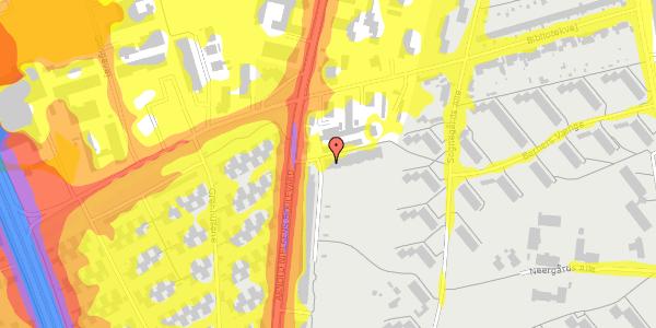 Trafikstøjkort på Arnold Nielsens Boulevard 105, st. , 2650 Hvidovre