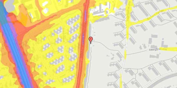 Trafikstøjkort på Arnold Nielsens Boulevard 119, 2. th, 2650 Hvidovre