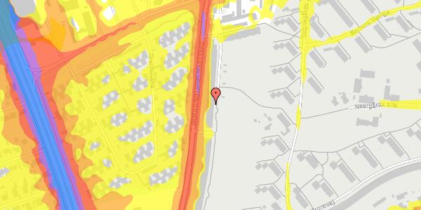 Trafikstøjkort på Arnold Nielsens Boulevard 123, 1. th, 2650 Hvidovre